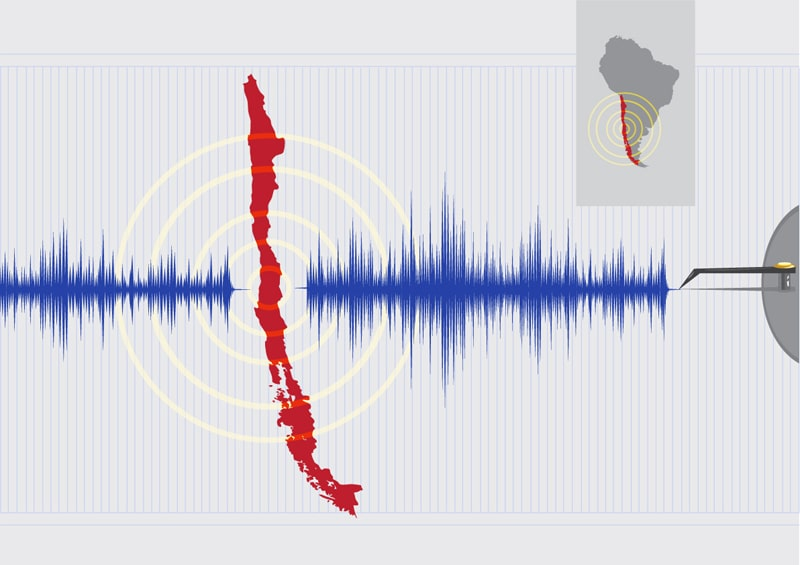 Twin quakes of 6.8 and 6.3 strike off the coast of Chile
