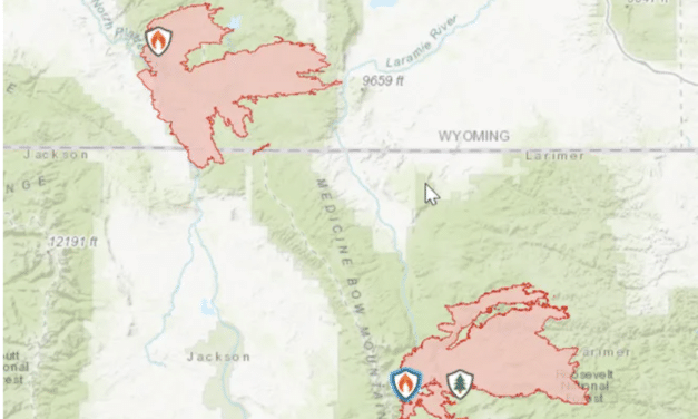 Concerns grow of MegaFire forming from Mullen Fire in Wyoming combining with Cameron Peak Fire