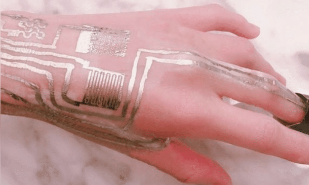 Scientists print wearable tattoo directly onto skin without heat