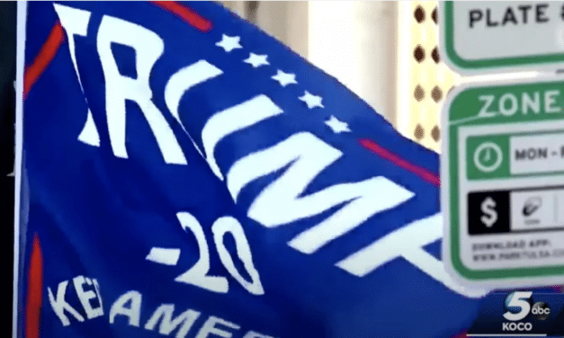 Man and his girlfriend are viciously beaten over their pro-Trump flag in Oklahoma City