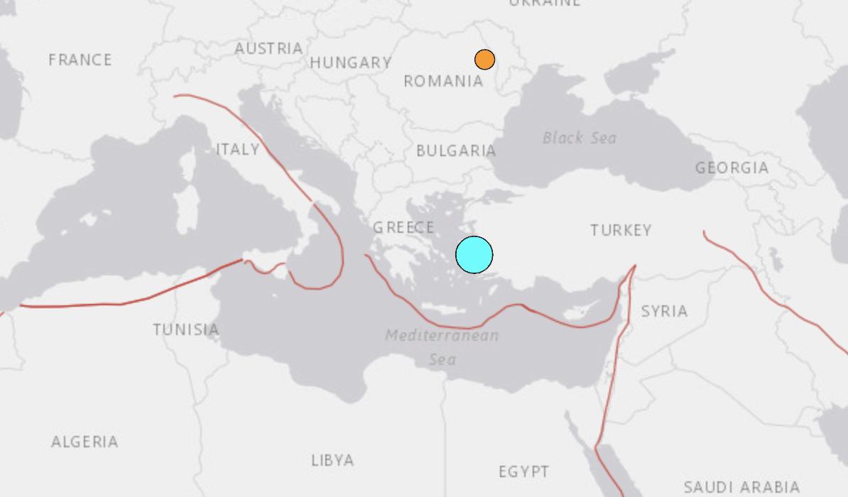 Huge 7.0 Earthquake Strikes Greece