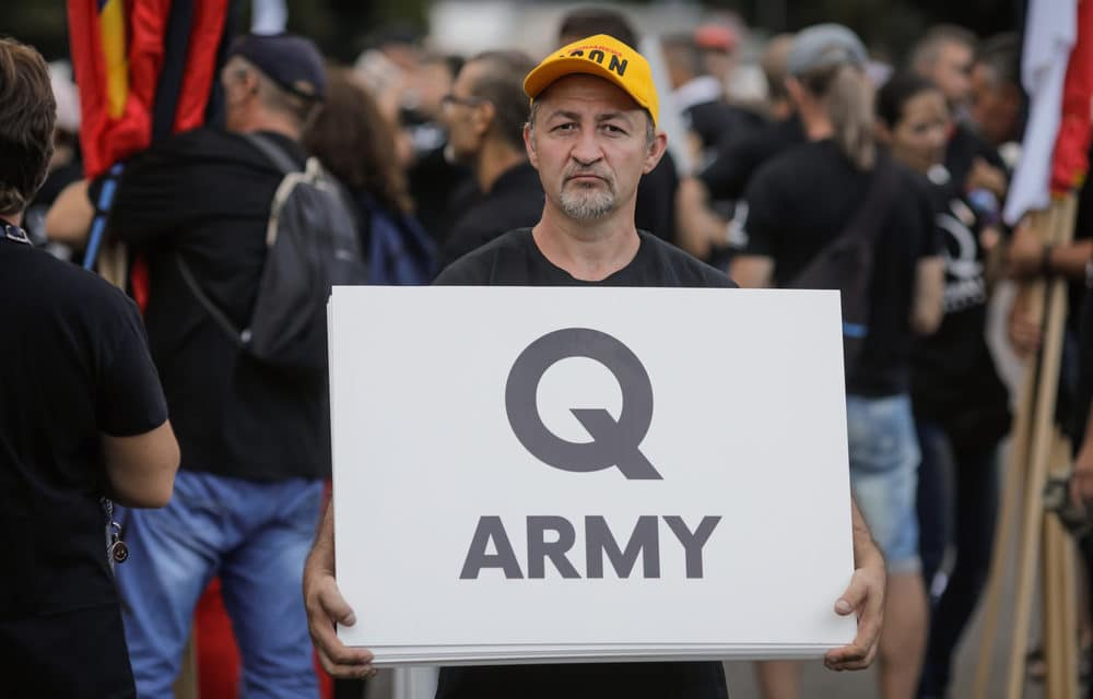 CNN says QAnon uses religion to lure unsuspecting Christians into their cult