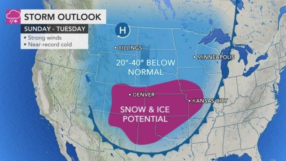 DEVELOPING: Arctic Outbreak Poised to Shatter Records And Bring Snow Unusually Far to the South