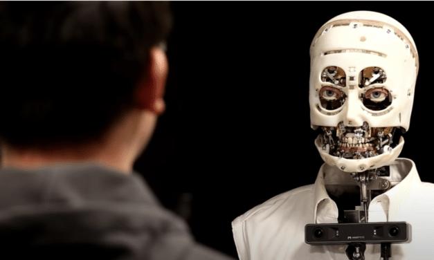 Disney's New Humanoid Robot with 'Lifelike Gaze' Is the Stuff of Nightmares