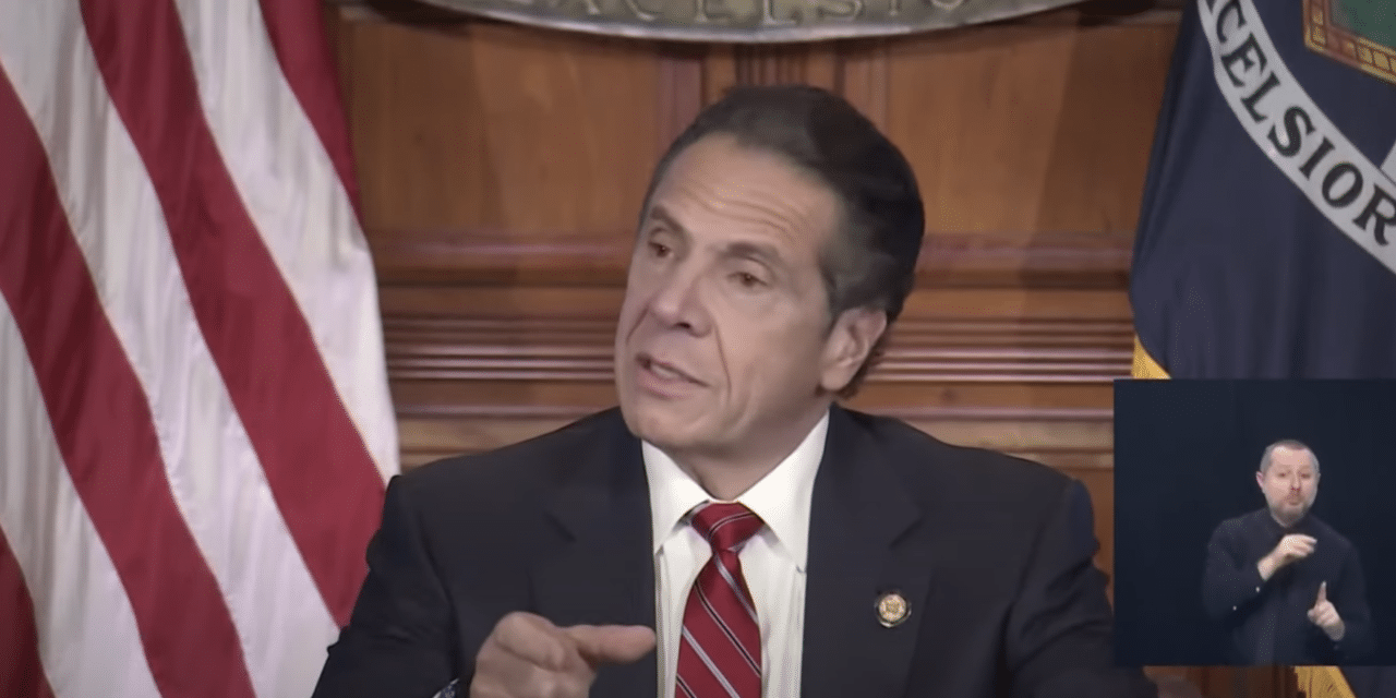 NY Gov. Cuomo: It's 'frightening to me' that 'arrogant' sheriffs won't enforce my COVID restrictions over Thanksgiving