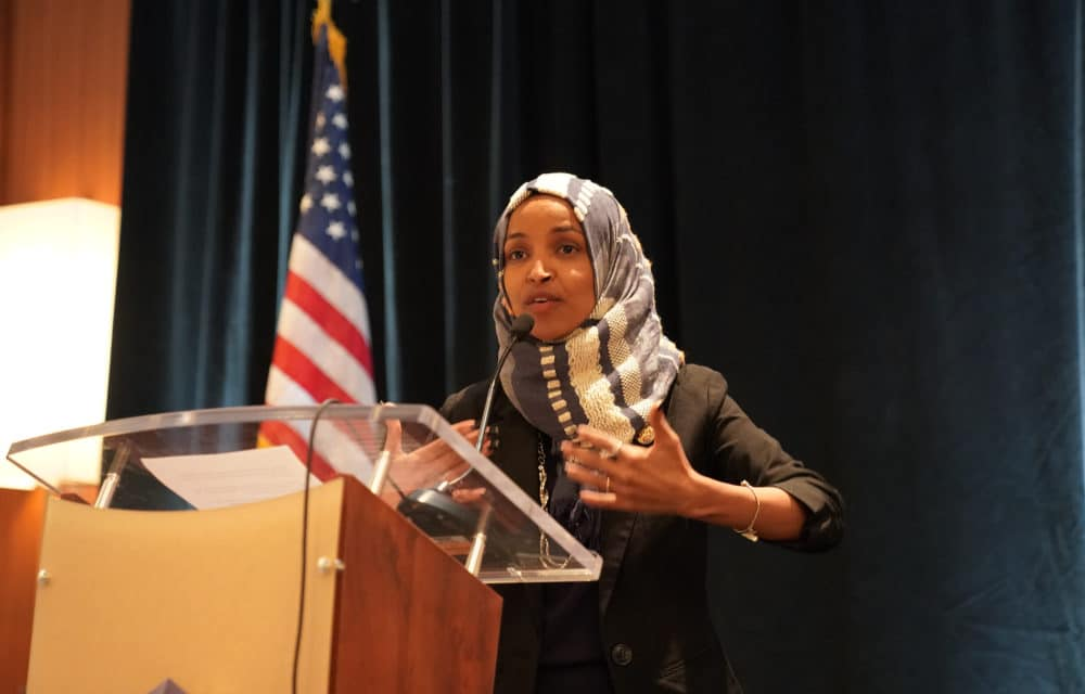 Ilhan Omar is calling for debt and mortgage payments to be canceled