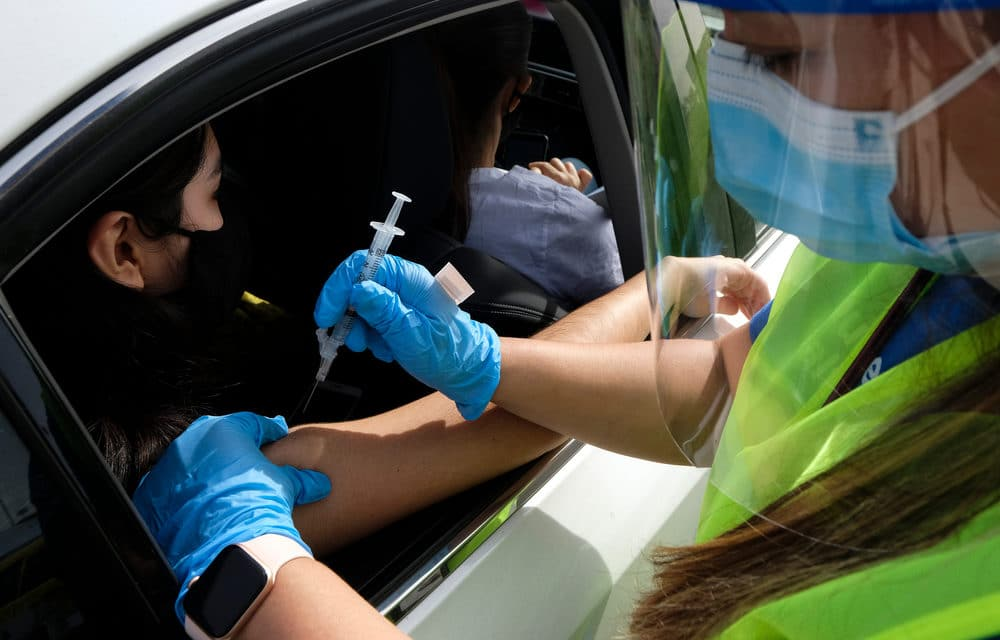Mass Covid Vaccination Gets a Dry Run in a Louisiana Parking Lot