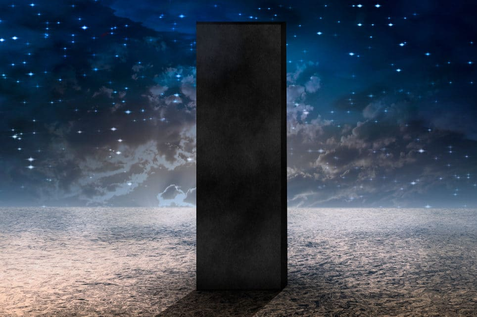 A 3rd metal monolith has appeared in California