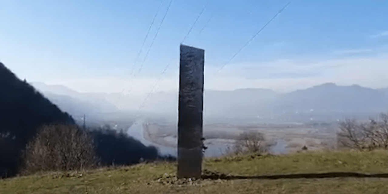 Second strange monolith has suddenly appeared on a Romanian hillside