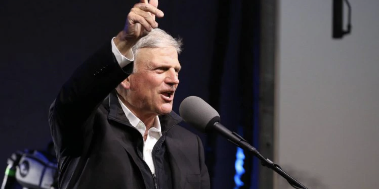 "Franklin Graham warns that the ""Soul of our Nation is at stake in Georgia"""