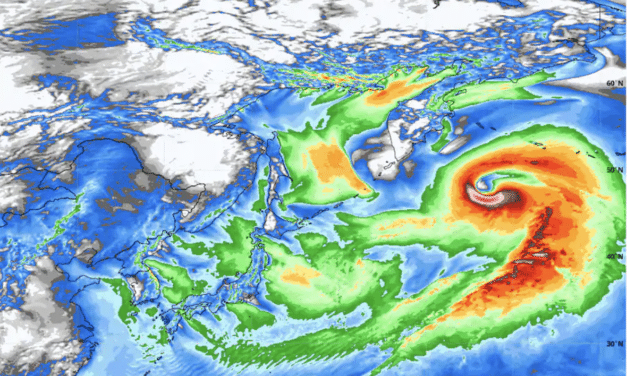 Bomb cyclone in northern Pacific Ocean may challenge all-time records