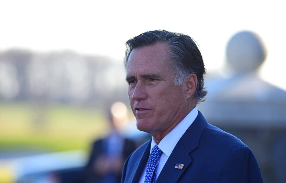 Mitt Romney says Trump continuing to dispute election results is 'really sad' and 'embarrassing'