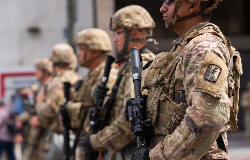 Number of National Guard members deployed to Washington could swell to 20K