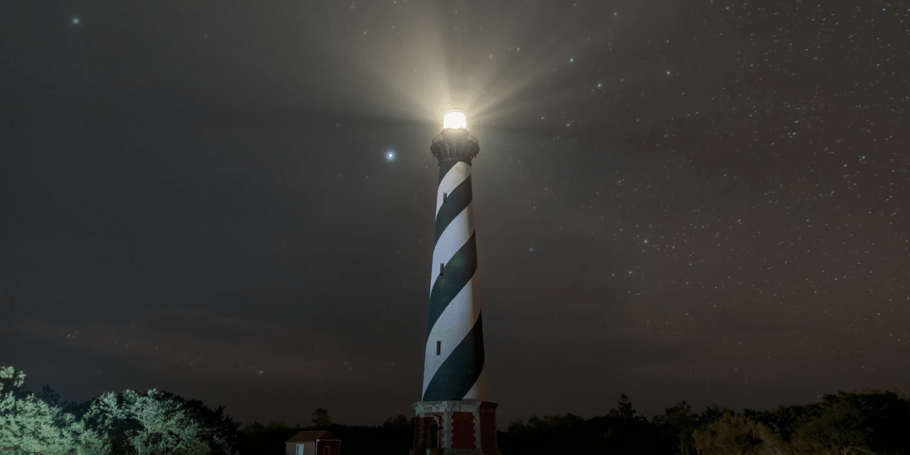 Unidentified flying object over North Carolina's Outer Banks sparks internet buzz