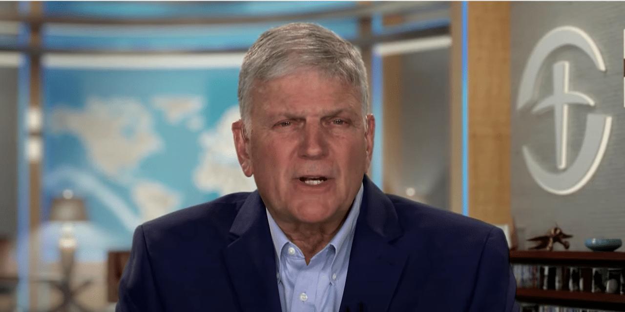 Franklin Graham Blasts Republicans Who Betrayed Trump, Compares Them to Judas Betraying Jesus