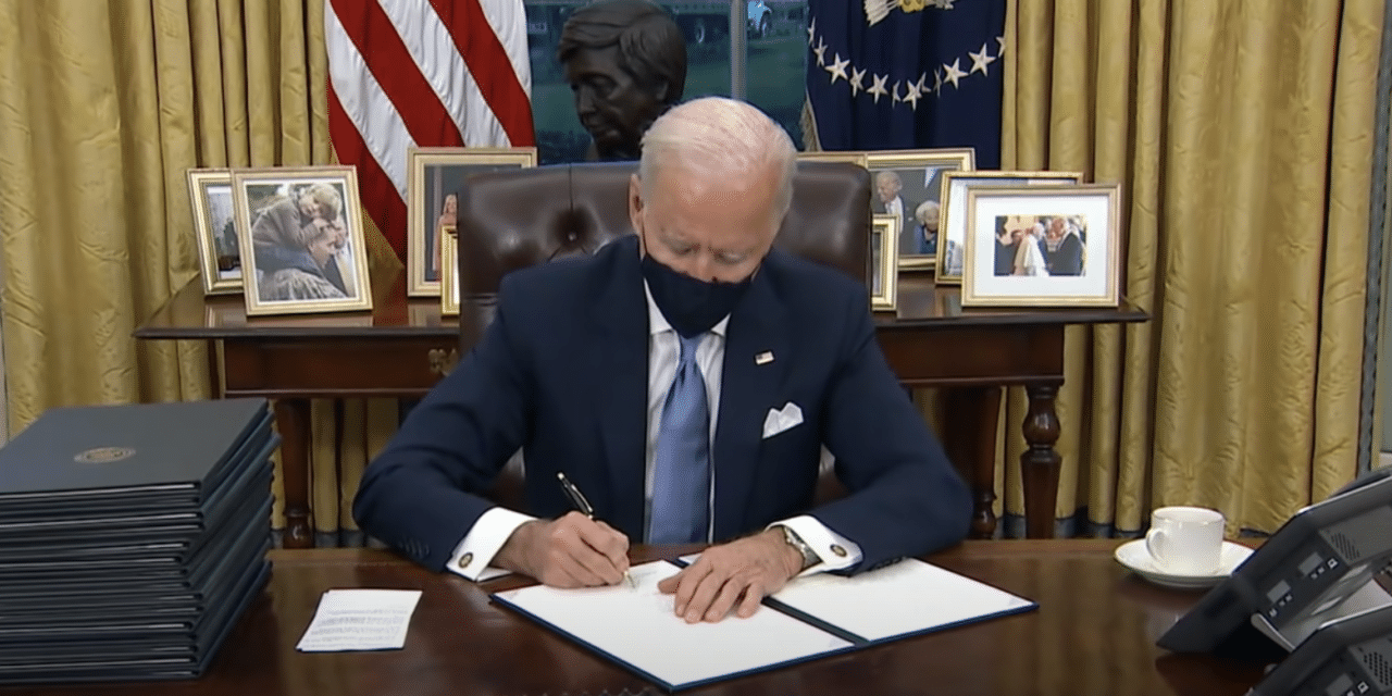 President Biden Signs Transgender Executive Order