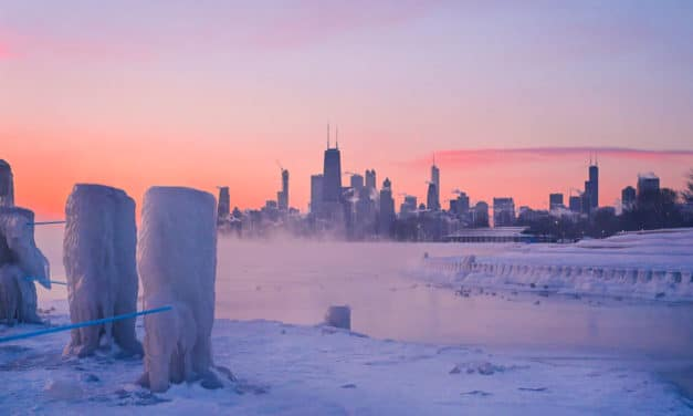 We may be in store for weeks of extreme winter weather as Polar Vortex is splitting