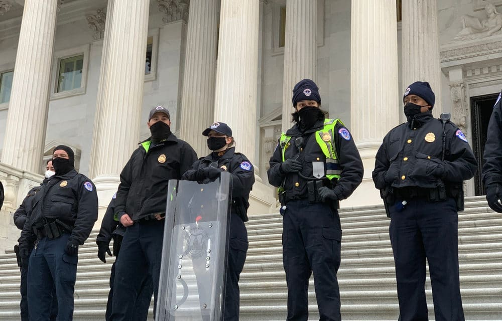 Feds warn of threat from improvised explosive devices at the Capitol