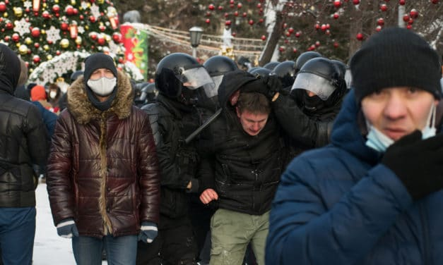 UNRAVELING: 3,000 arrested at protests demanding Navalny's release