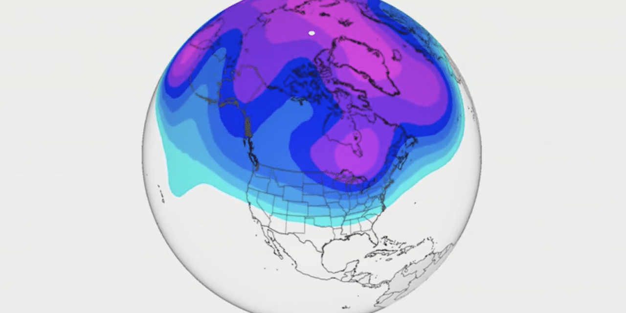Polar vortex to cause every state in the US to see below freezing temps next week…