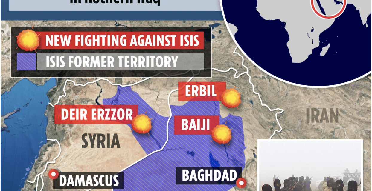 Ten thousand ISIS fighters poised for new wave of terror