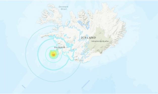 Strong 5.6 earthquake rattles Reykjavik – aftershocks strike