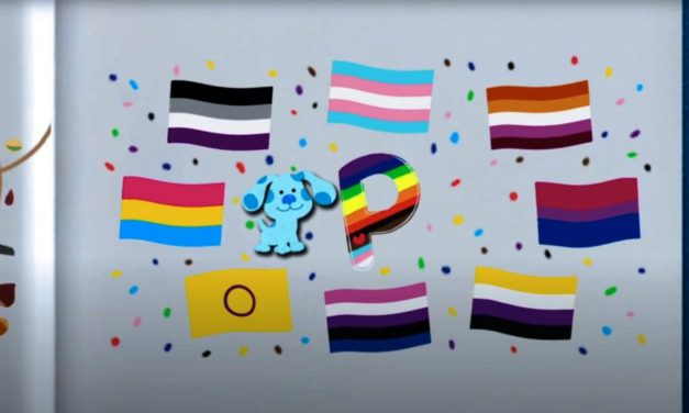 'Blue's Clues & You!' Promotes LGBTQ Agenda With Alphabet Song, 'P is for Pride'