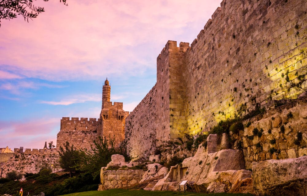 City of David 'Shakes Off the Dust' Fulfilling Bible Prophecy