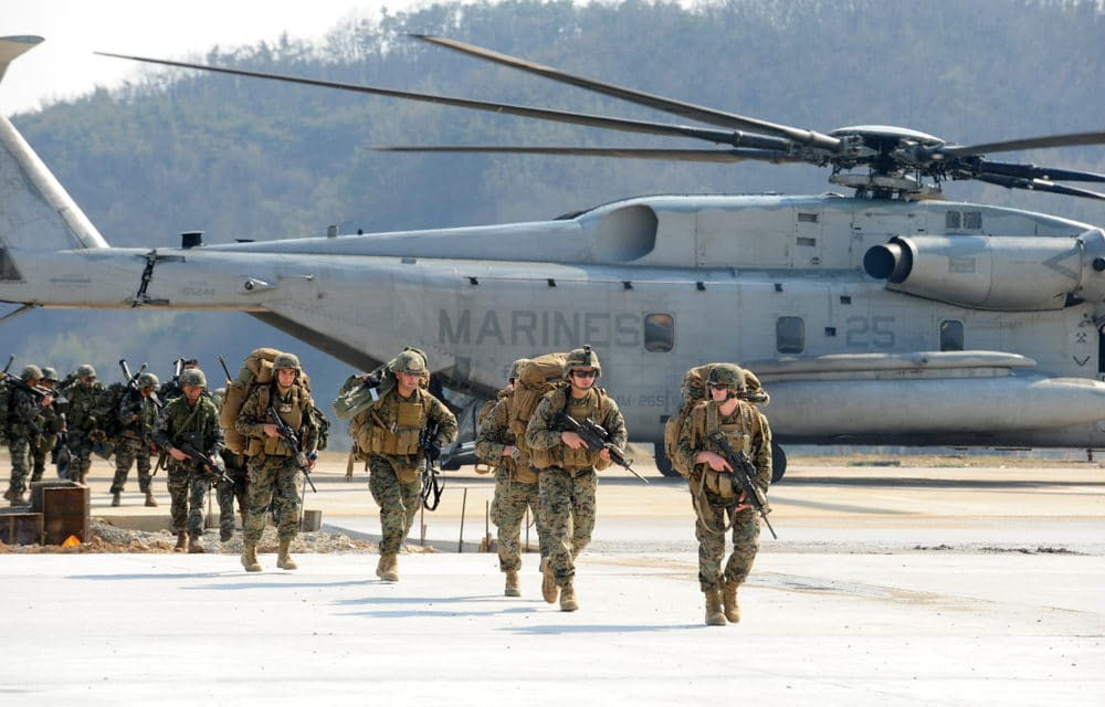 Threat level raised for US troops in Iraq after airstrikes in Syria