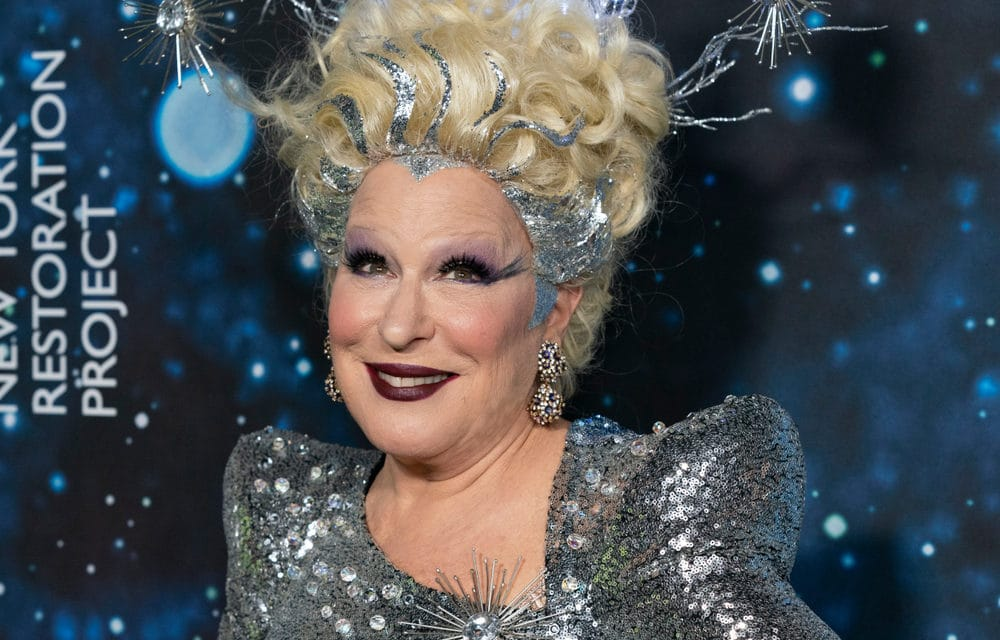 Bette Midler says God is punishing Ted Cruz with deadly winter storm in Texas, implies Rush Limbaugh is in hell
