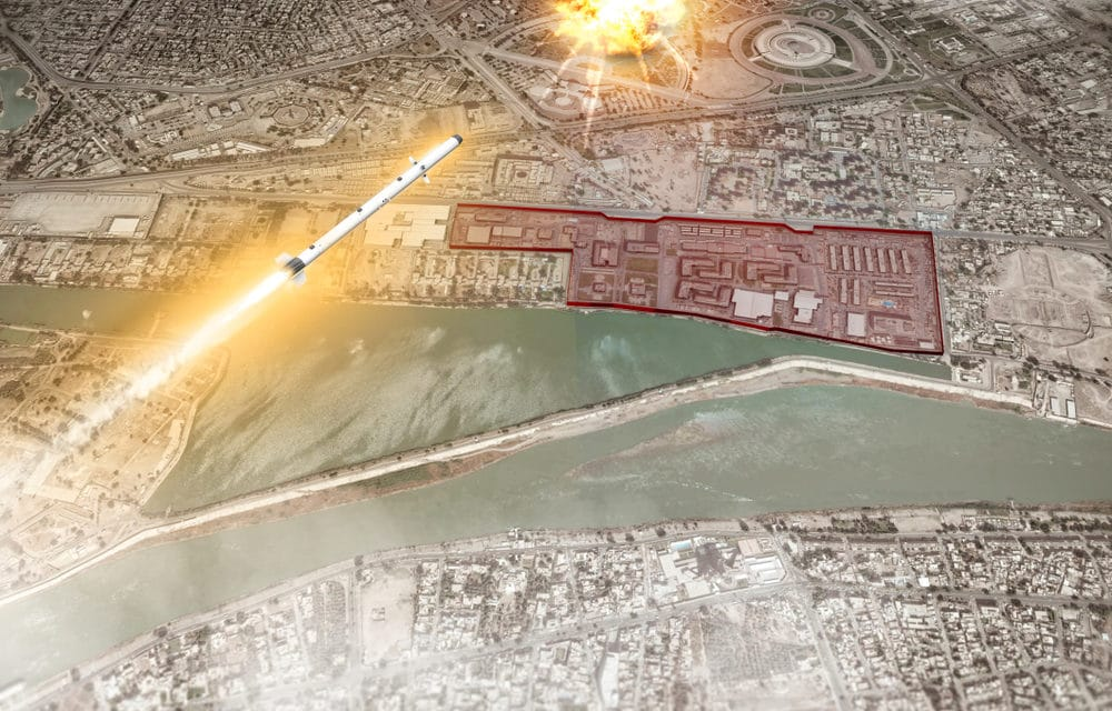 RUMORS OF WAR: Rockets fired in Iraq sparks fears of war