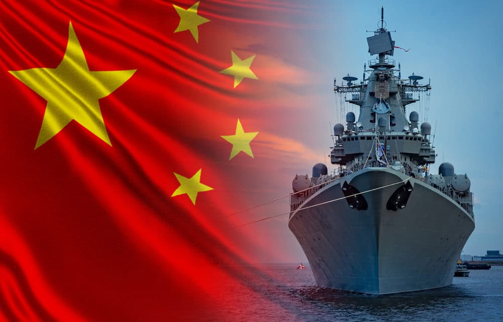 Tensions flare as armed Chinese ships enter Japanese waters
