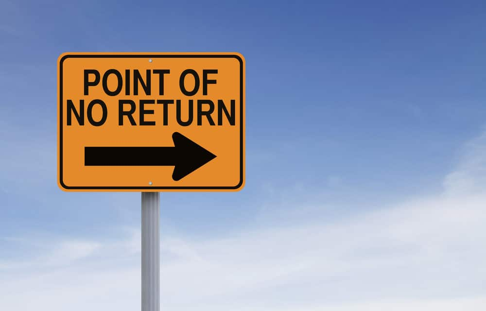 Have We Passed The Point Of No Return?