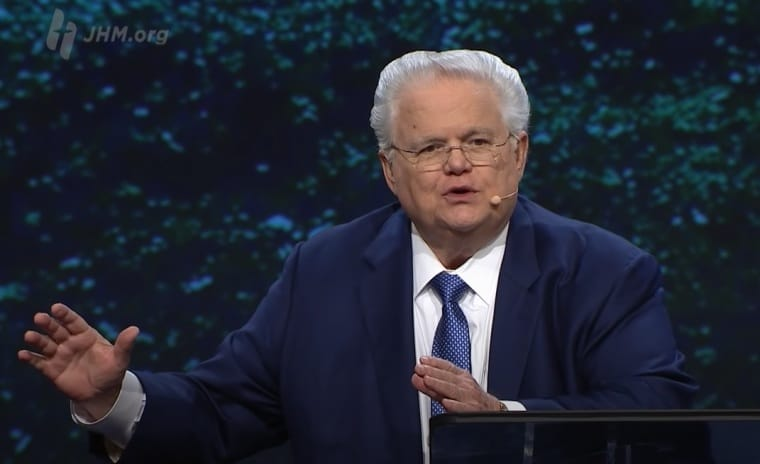 After declaring Jesus Christ was the remedy for COVID-19, John Hagee is now taking the vaccine