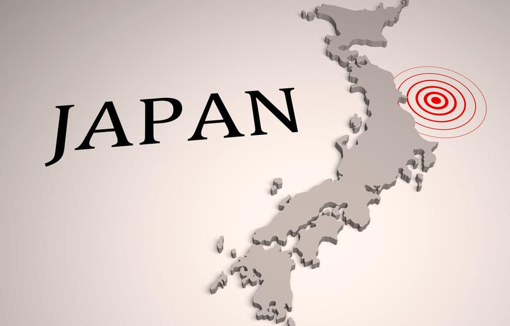 Powerful magnitude 7.0 earthquake rocks Japan triggering tsunami warning