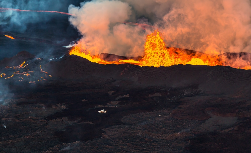 Volcano that has been dormant for 6,000 years erupts in Iceland