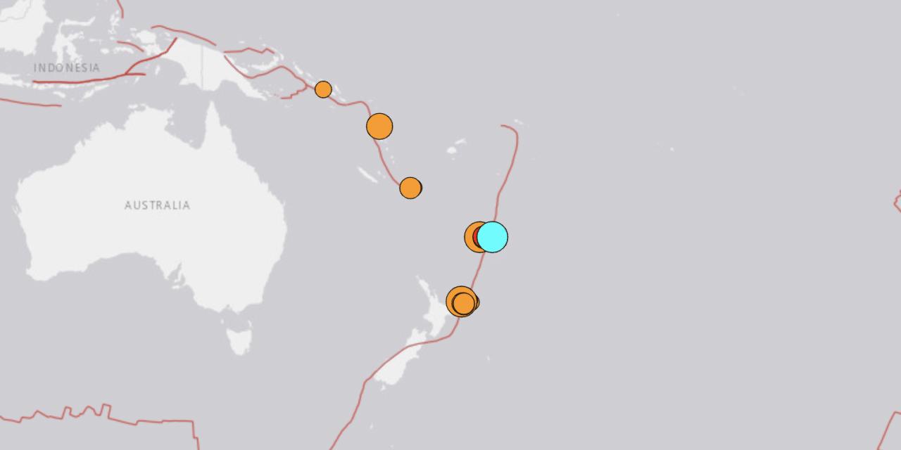 Huge magnitude 8.0 earthquake has struck the same region as the twin 7 plus quakes