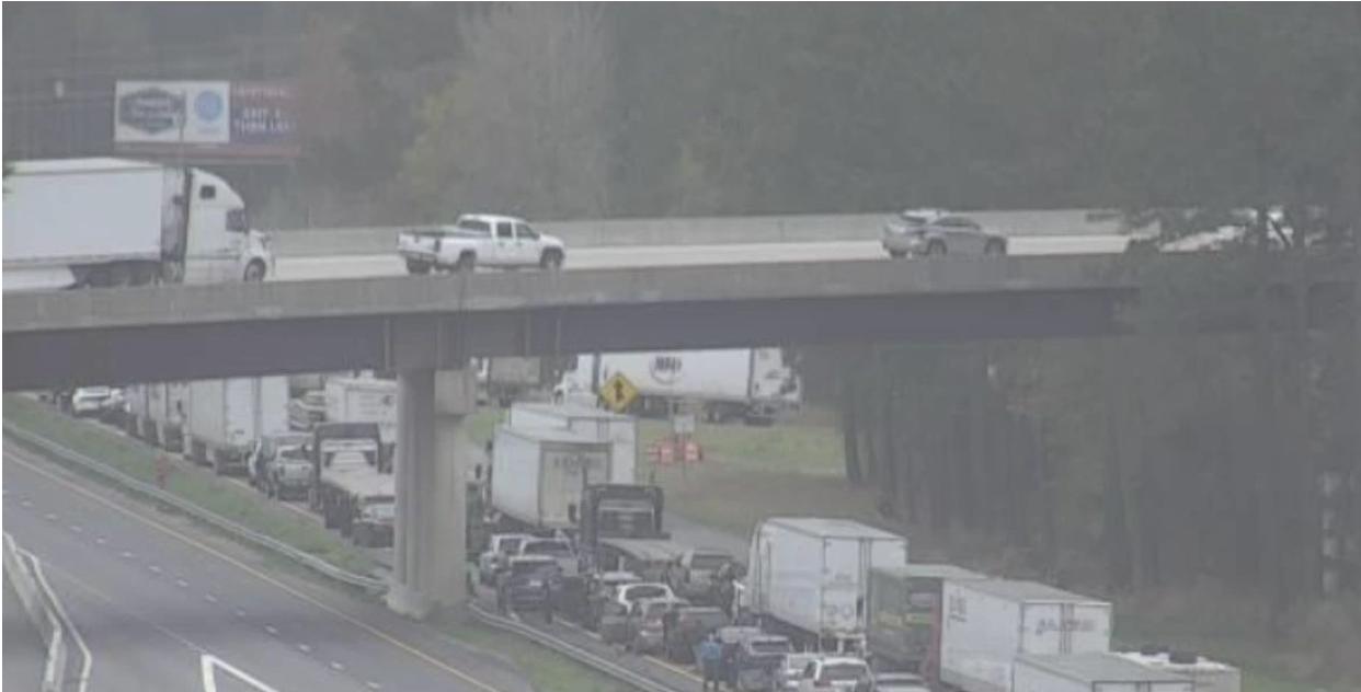 Truck carrying radioactive uranium compound crashes in North Carolina sparking evacuations