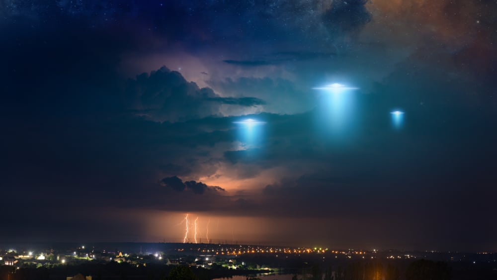 """Trump ordered report into """"unidentified aerial phenomena"""" as one of his final acts as President, with outlets predicting 2021 could be the """"year of the UFO""""."""
