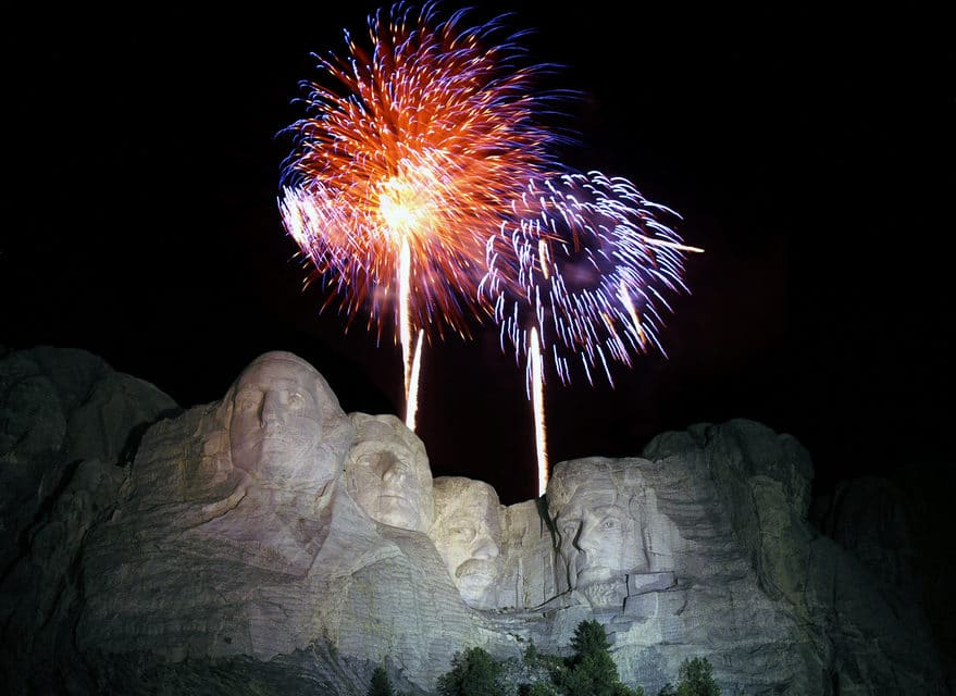"""Biden Admin says """"No Fourth of July Fireworks at Mount Rushmore"""""""