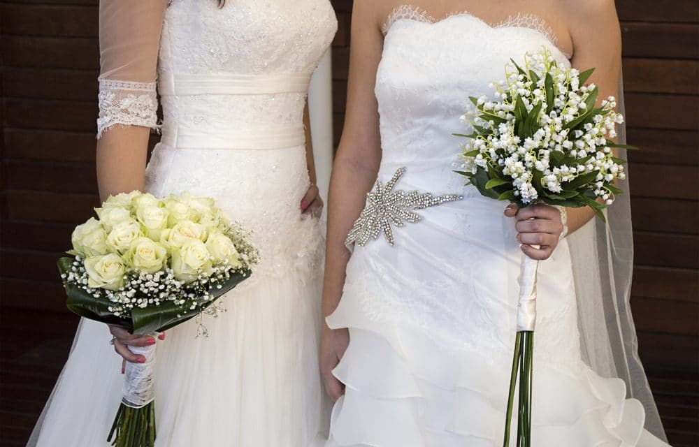 DAYS OF LOT: same sex marriage has spread around the globe since Netherlands first 20 years ago