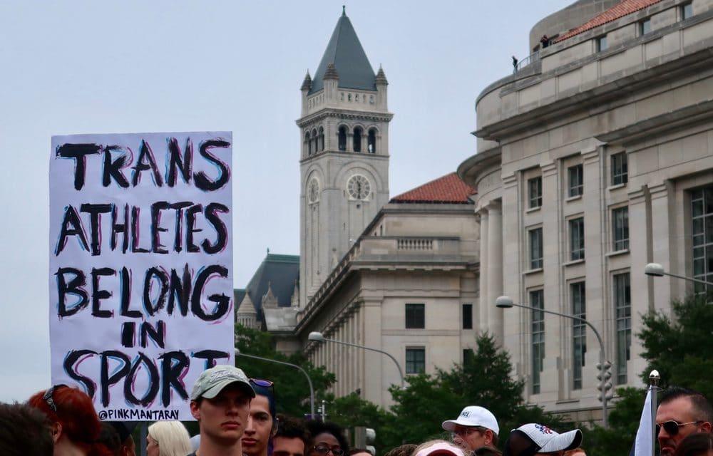 "ACLU calls bans on trans athletes ""discriminatory"", harmful and unscientific"""