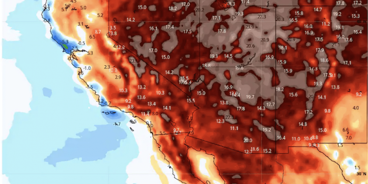 DEVELOPING: Record-breaking temperatures to blanket the Southwest