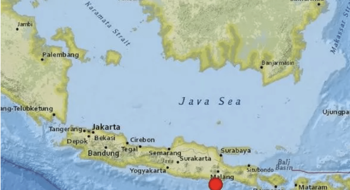 6.0 earthquake strikes off coast of Indonesia rattling windows and swaying buildings