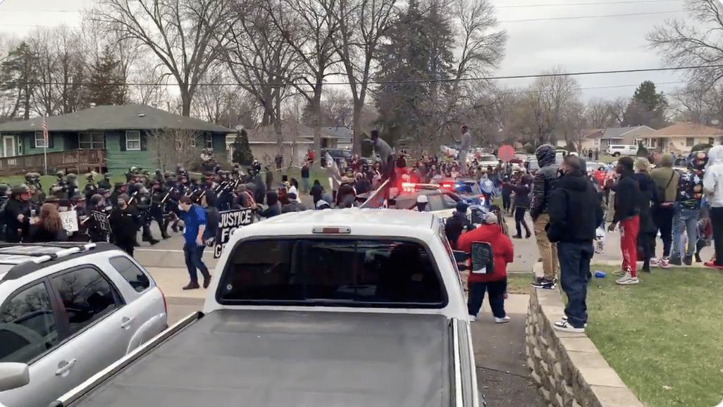 DEVELOPING: Violence breaks out in Minneapolis after officer-involved shooting