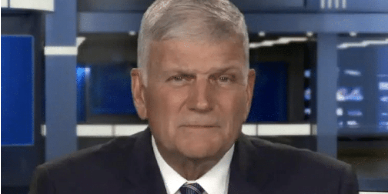 Franklin Graham Warns 'God's Judgment Is Coming' to America
