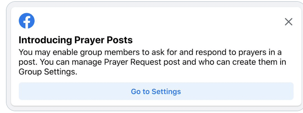 Facebook may soon add New 'Prayer Post' feature for faith groups