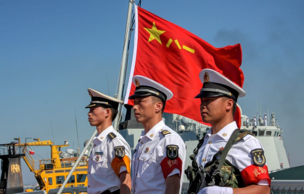 """US put on """"High Alert"""" as China unveils deadly destroyer capable of shooting down ballistic nukes and satellites"""
