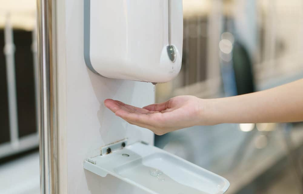 Students at prestigious college complain that automatic soap dispensers are racist