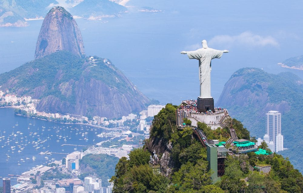 Brazil is constructing a new giant statue of Jesus that is taller than Rio's